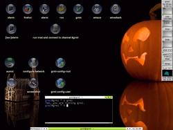 Screenshot of Grml 2009.10